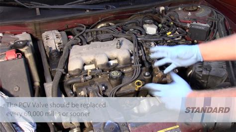 pcv valve replacement gm  youtube