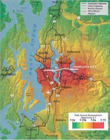 seattle earthquake map 3 elements of the roadmap national earthquake resilience research implementation and