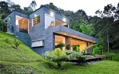 Small Hillside House Plans by Modern Hillside House Plans Awesome Modern Hillside House