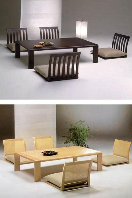 japanese style table and chairs japanese style dining table dining tables ideas