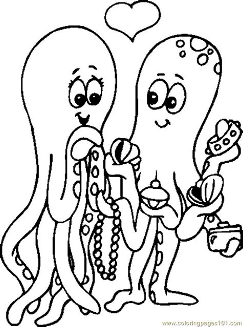 crayola free coloring pages holidays valentine s day coloring pages lovers octopi holidays gt valentine s day