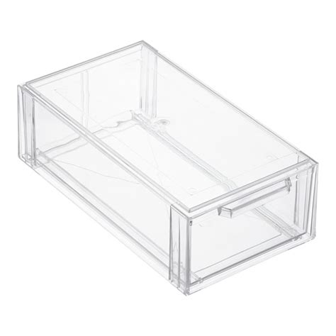 plastic storage drawers 30cm wide clear shoe drawers clear stackable shoe drawer the