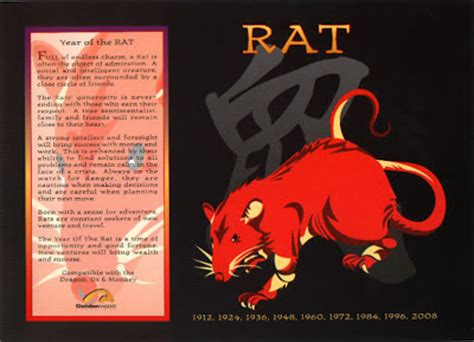 the chinese astrology chinese horoscope signs the rat