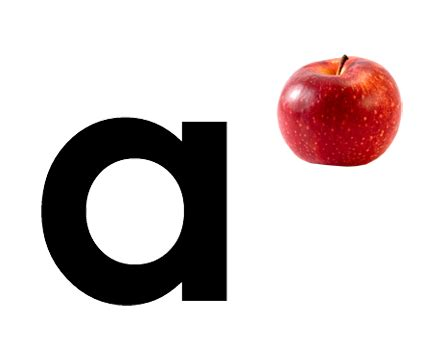a for apple kindersay