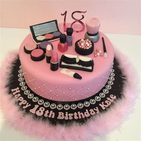 birthday themed makeup pink 18th make up theme birthday cake make up party