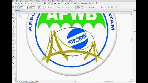 membuat logo corel draw x7 membuat logo dengan coreldraw x7 youtube