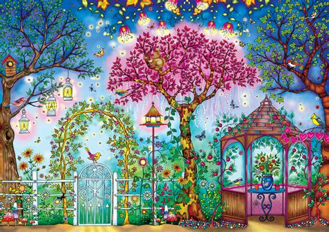 secret garden coloring book in stores songbird garden jigsaw puzzle puzzlewarehouse