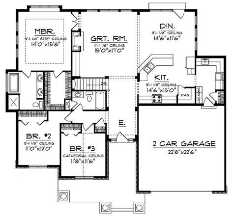 open concept floor plan  ranch  spacious interior home ideas   house ranch