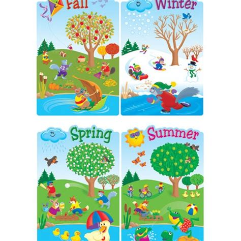 printable seasons poster i think it is useful to put some season posters or