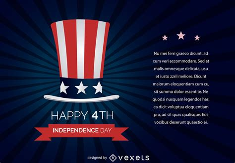 Day In July 4th july independence day free vector