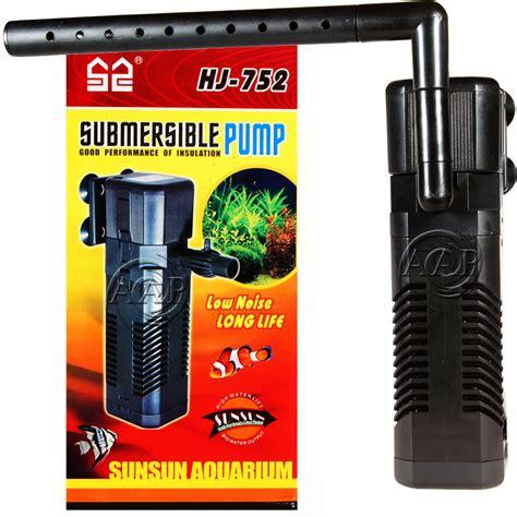 aquarium filter hj 611b internal aquarium submersible filter sunsun hj 752 hj