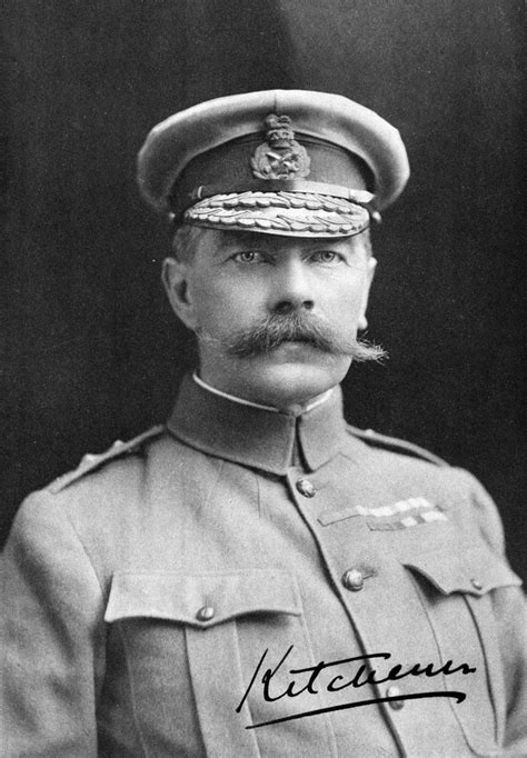 Who Is Lord Kitchener by Field Marshal Lord Kitchener In Service Dress South