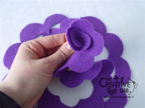 per fare un fiore tutorial come fare dei fiori di stoffa the creative lab