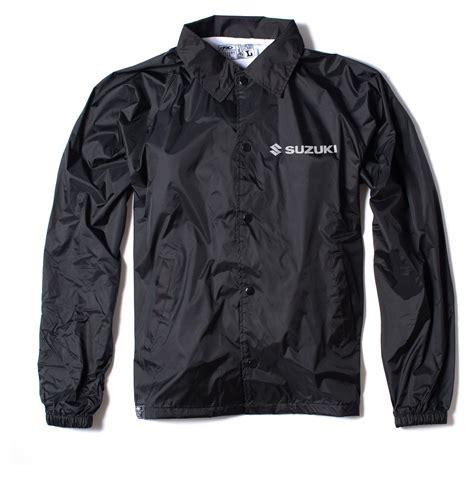 suzuki jacket factory effex suzuki windbreaker jacket revzilla