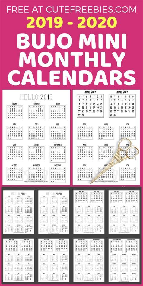 bullet journal calendar printable stickers bullet journal calendar printable