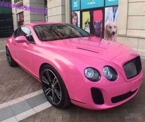 pink bentley convertible alles pink oder was bentley continental supersport in