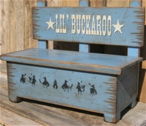 toy box benches cowboy brand furniture toy box bench