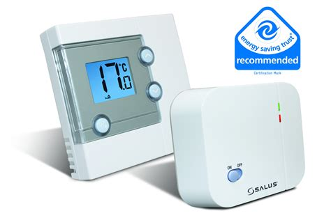 Kitchen Cabinets Catalog by Salus Rt300rf Wireless Room Thermostat With Rf Available