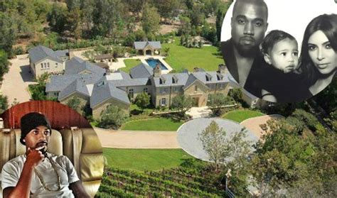 kim kanye house does ray j live next door to kim kardashian