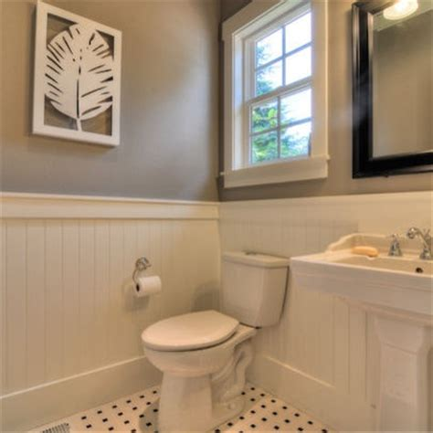 Wainscoting In Powder Room wainscoting in powder room hhs me a home