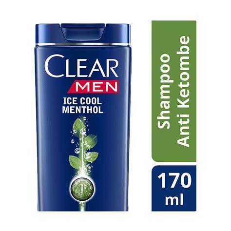 Harga Clear Menthol jual clear cool menthol shoo 170 ml