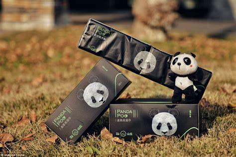 tissue paper   panda faeces   sale  china daily mail