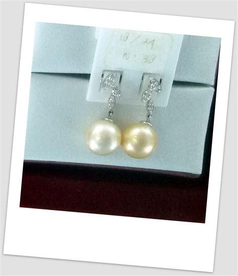 Harga Anting Emas Bayi by Anting Mutiara Emas 0067 South Sea Pearl Necklace Price