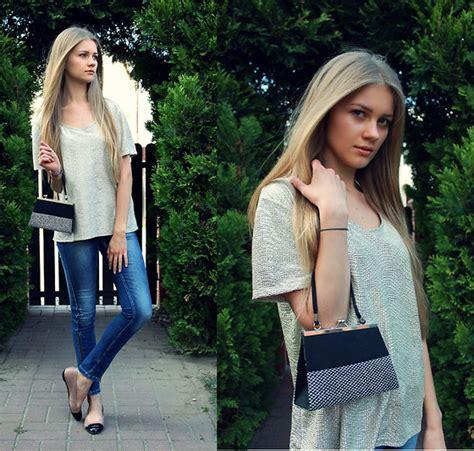 Nr Atasan Wanita Blouse Sweater Elin barbara zanella dress like a 3 colors blazer vintage skirt lookbook