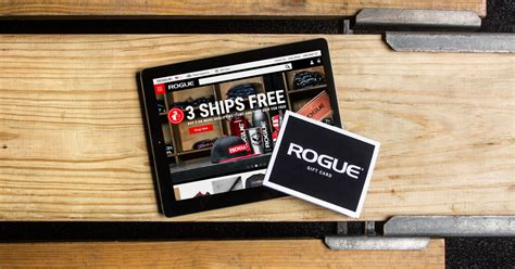 Rogue Fitness Gift Card - rogue gift certificates custom strength training crossfit gifts
