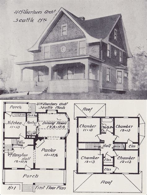 eclectic house plans 1908 eclectic house plan with arts crafts detail