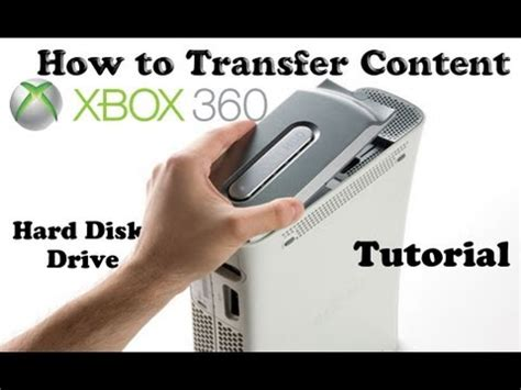 how to transfer old xbox 360 hdd data to a new xbox 360 tutorial how to transfer content memory xbox 360 from old