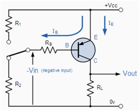 pnp transistor as switch circuit pnp transistor