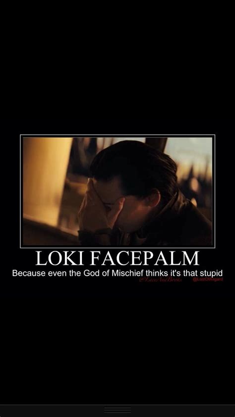 Loki Meme - you know it s bad when even loki does the facepalm can t
