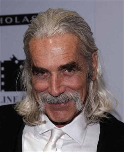 sam elliott long grey slickback hairstyle and handlebar mustache here s a simple guide for men growing out long hair