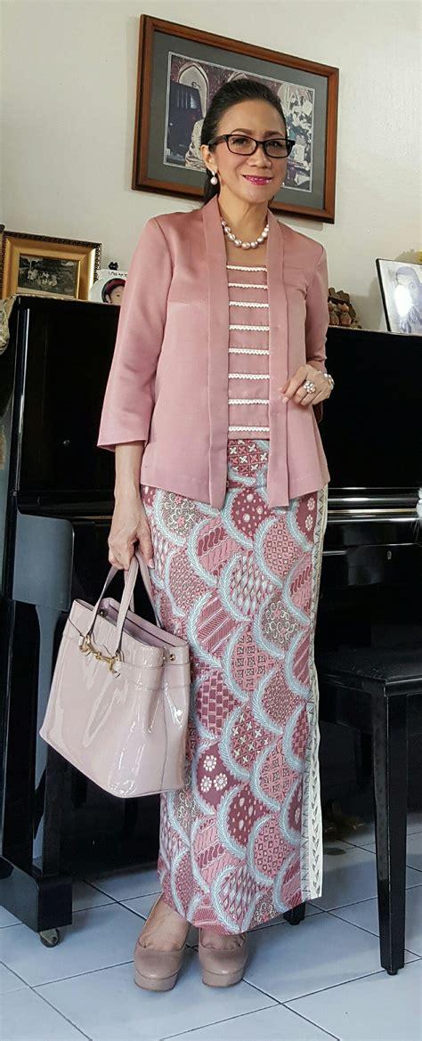 En Rok Brukat Brokat kebaya kutu baru modern indonesia batik n tenun patroon ontwerp rok en patroon