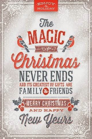 magic  christmas  ends   greatest gifts  family friends merry christmas