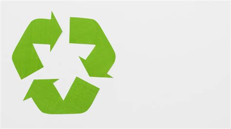 green eco recycle logo photo