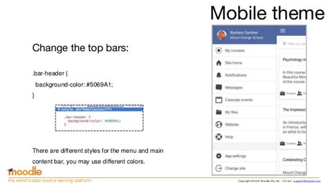 Moodle Themes For Mobile | creating moodle mobile remote themes