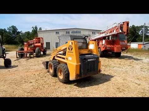 1998 daewoo dsl801 skid steer for sale sold at auction