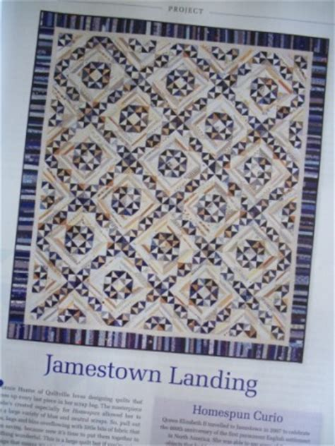Jamestown Landing Quilt Pattern by A Sewing Day With Two Of