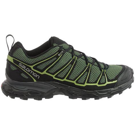 salomon hiking shoes s salomon x ultra prime hiking shoes for 108ah save 30