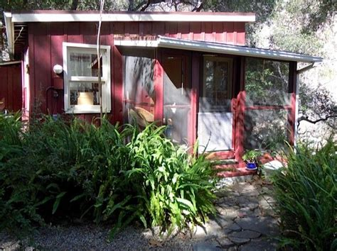 ojai vacation rentals ojai cottage rental ojai love shack cabin forest mountains canyon stream ojala homeaway