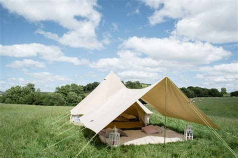 canvas tent awning large awning only for 4m 5m 6m bell tent 400 x 360cm
