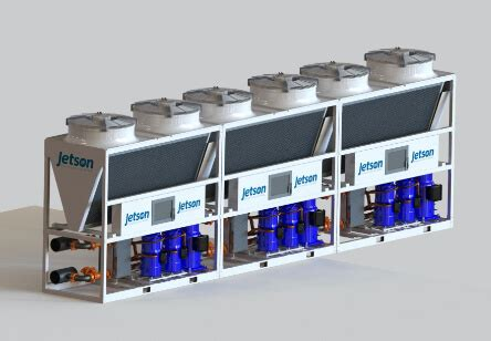 modular air cooled chillers jetson