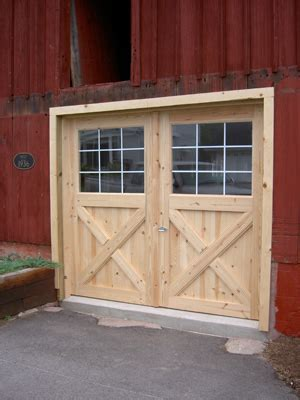 how to build swinging barn doors new swinging barn doors on old barn garage ideas