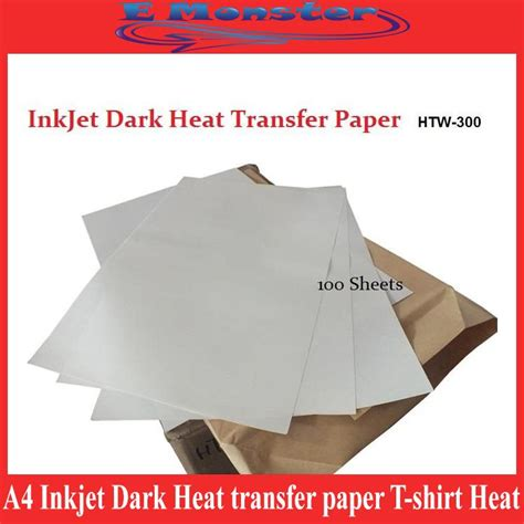 How To Make Heat Transfer Paper - a4 inkjet heat transfer paper t shirt heat pr end 2