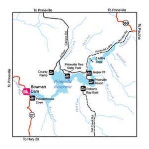 prineville oregon map odfw warmwater fishing in the central area