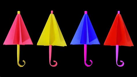 Origami Umbrella Easy - how to make an origami umbrella for showpiece easy
