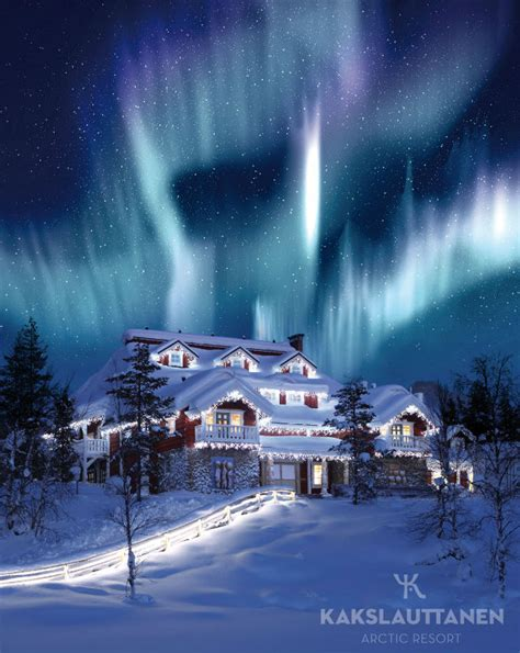 celebration house northern lights home abroad