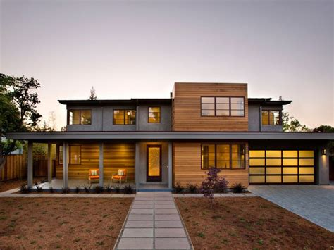 contemporary home exterior modern cedar horizontal wood siding home with shingles and trim contemporary exterior